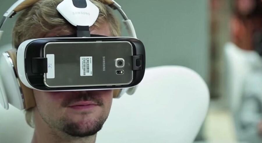 Virtual reality kan måske hjælpe kronisk syge børn med deres sygefravær. Samsung