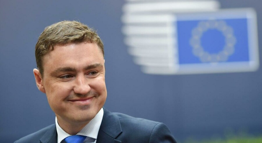 Arkivfoto af Estlands premierminister Taavi Rõivas.