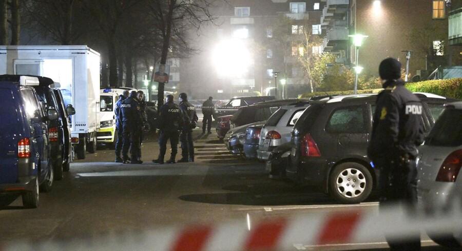 »Hvordan kan integrationsdagsordenen fylde så lidt for kandidater og vælgere?« Arkivfoto fra bandekonflikt på Nørrebro.