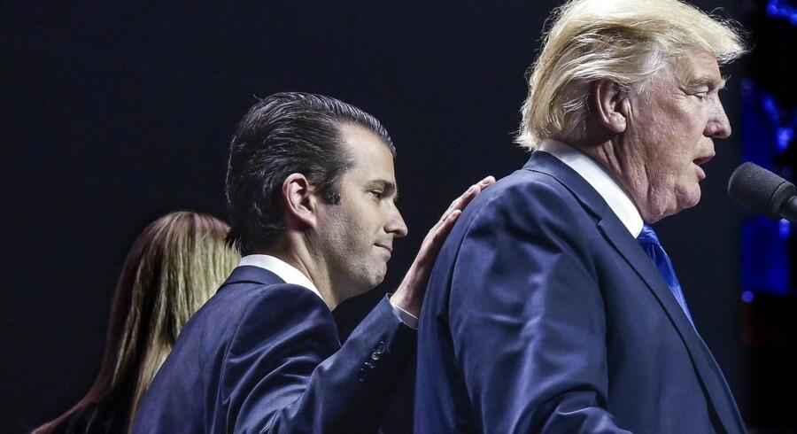 CNN rapporterer, at Trumps søn vil møde op til høring i panelet onsdag i næste uge.