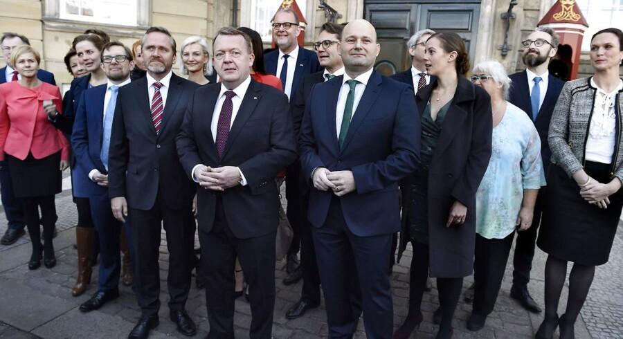 ARKIVFOTO: Regeringen har store reformambitioner, men intet reformflertal, lyder analysen efter 100 dage med VLAK.
