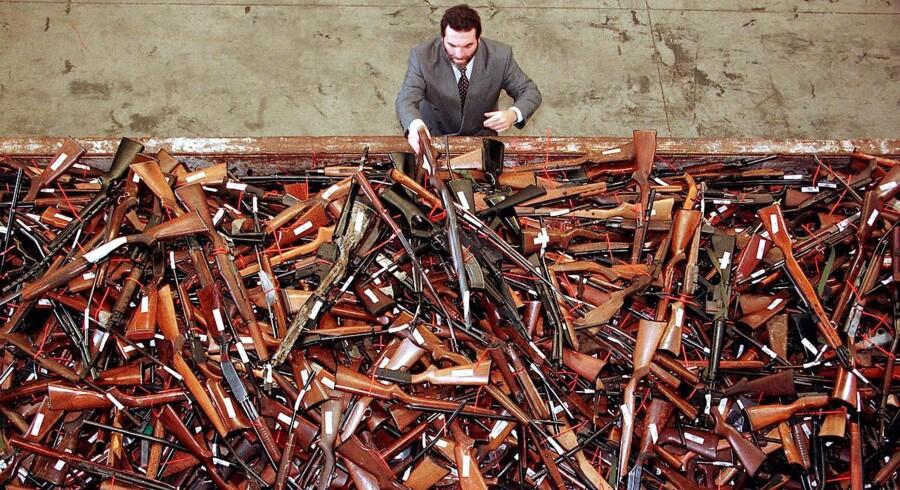 Australiere kan indlevere illegale skydevåben til myndigheder fra 1. juli uden at blive retsforfulgt.