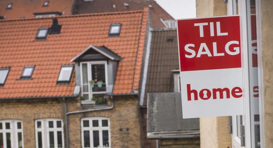 Huspriserne for villaer i indre by er steget med knap 70 pct. siden 2011.
