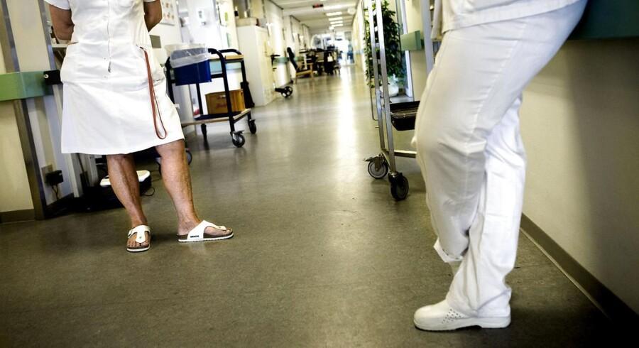 Gennemsnitslønnen for en sygeplejerske i det private er højere end for en sygeplejerske i det offentlige, viser tal fra Danmarks Statistik.
