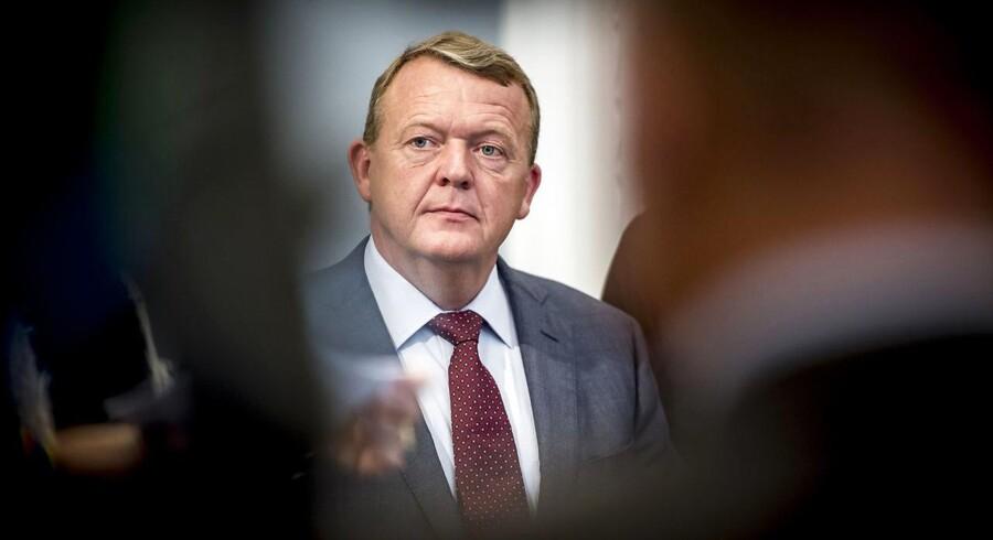 Statsminister, Lars Løkke Rasmussen (V).