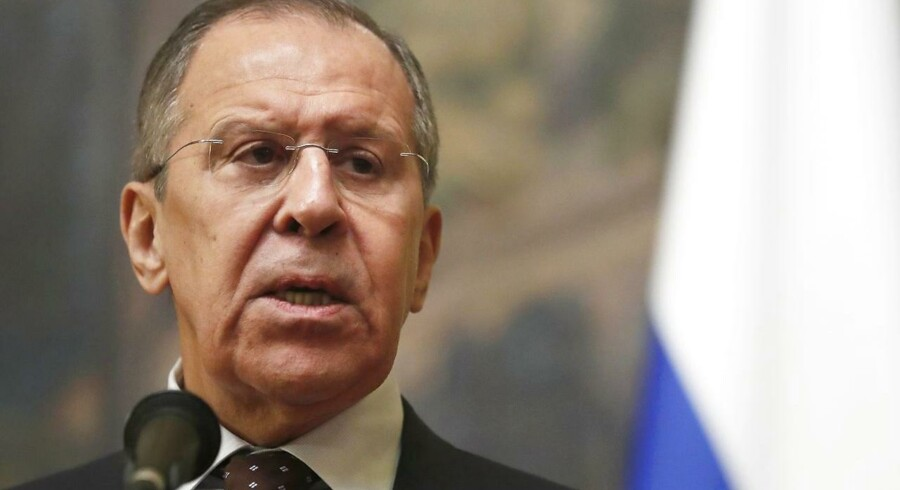 Sergei Lavrov, den russiske udenrigsminister.