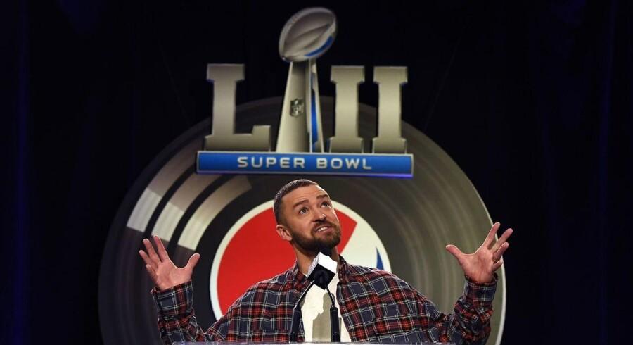 Super Bowl 52 spilles i Minnesota, og Justin Timberlake skal spille koncert i pausen.