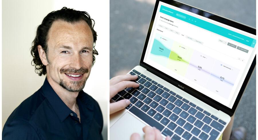 Det danske onlinemåleværktøj fra AudienceProject, som administrerende direktør Jacob Lachmann står i spidsen for, skal nu på arbejde i Storbritannien og Tyskland. Fotos: AudienceProject