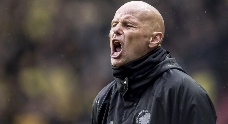 FC Københavns cheftræner Ståle Solbakken - tager debatten med DF roligt.