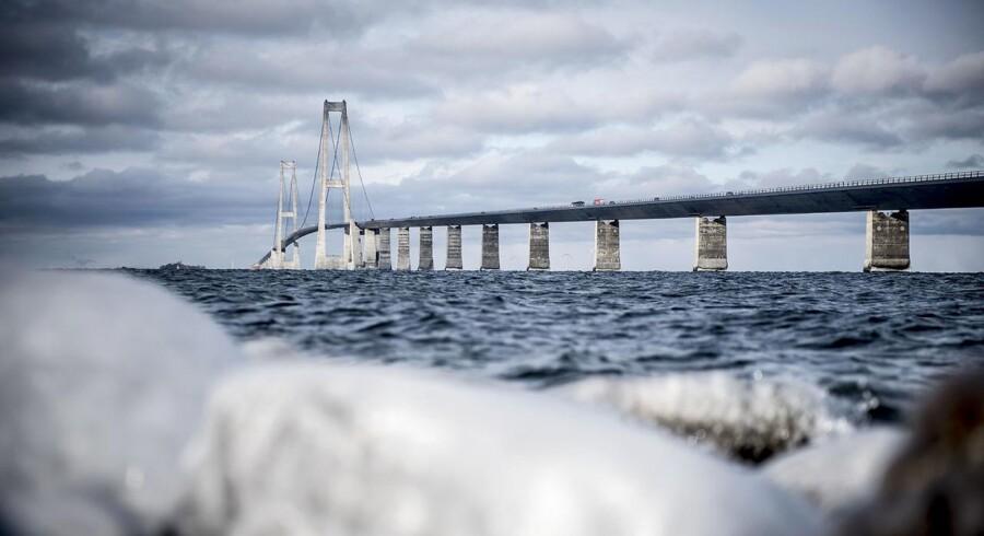 Øget trafik over Storebælt kan aflæses direkte på resultatet hos Sund og Bælt Holding.