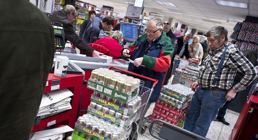 Arkivfoto: Forbrugspriserne stiger i Tyskland.