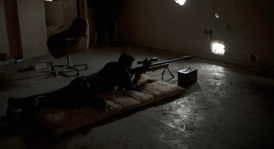Arkiv: Snigskytte i Mosul