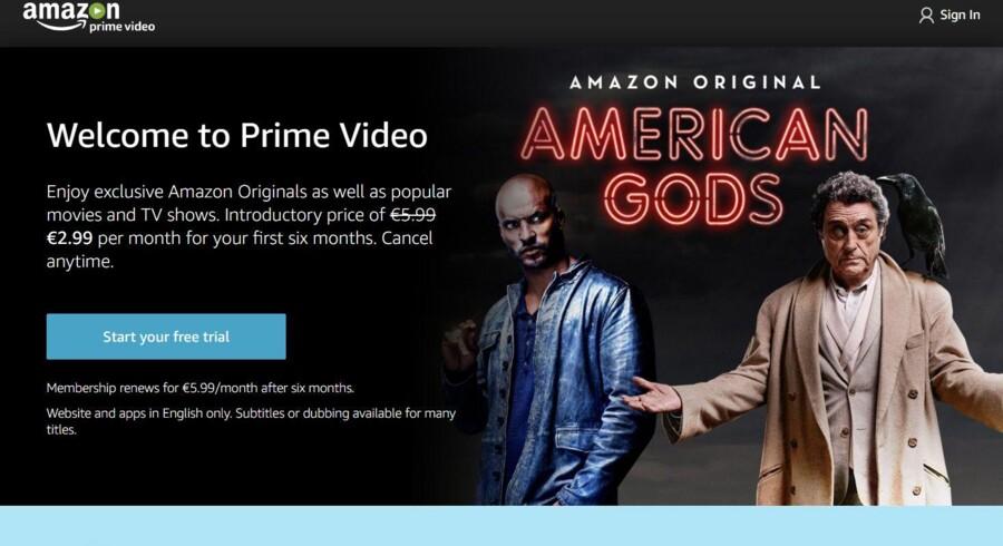 Det almindelige streamingudvalg af film og TV-serier i internetgiganten Amazons Amazon Prime-tjeneste suppleres nu af de første almindelige TV-kanaler.