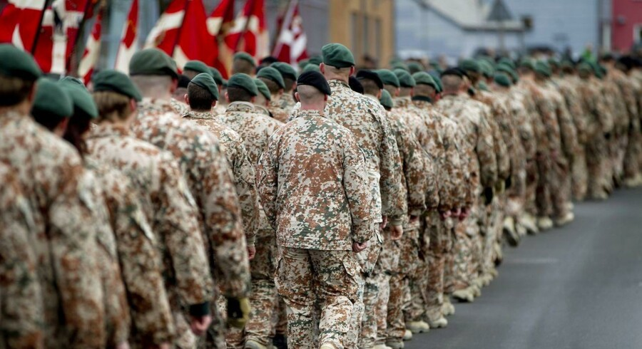 De danske soldater skal passe på ikke at blive involveret i skandaler i Estland.