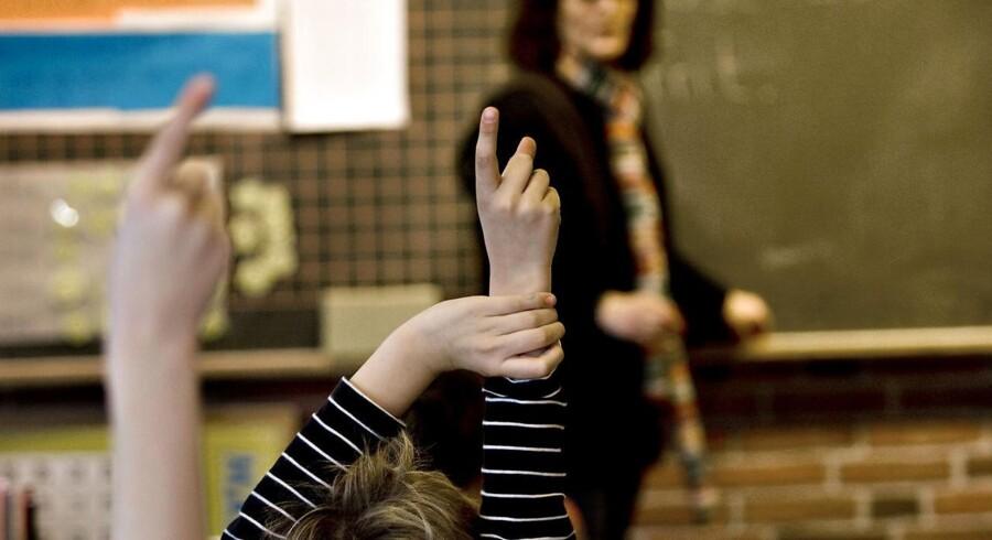 Arkivfoto. Undervisningsministeriet lancerer nyt digitalt værktøj, der gør det lettere at sammenligne folkeskoler.