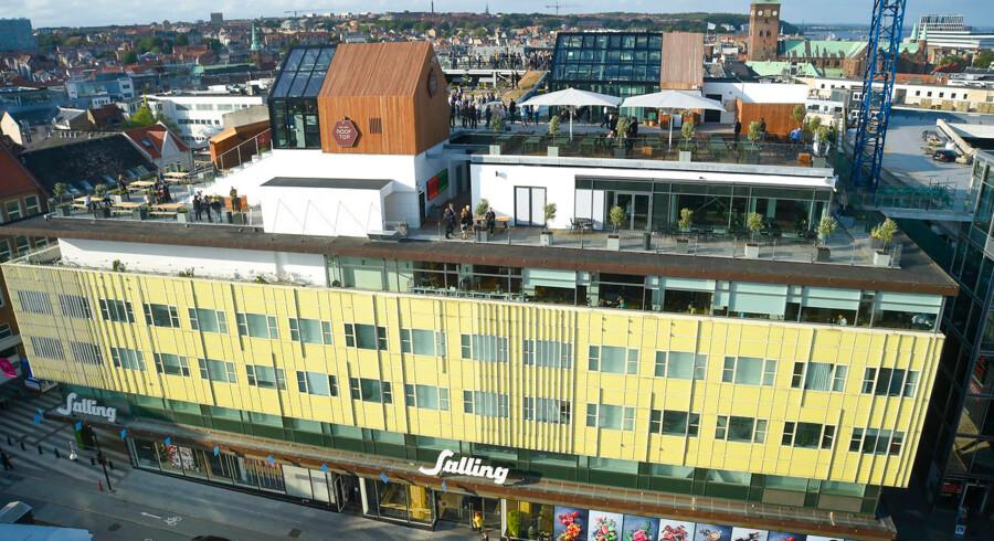 Salling Rooftop i Aarhus slog dørene op første gang den 25. august sidste år.