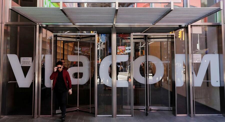 Ifølge Wall Street Journal er CBS kommet med et bud på Viacom, der ligger under selskabets nuværende markedsværdi. Foto: REUTERS/Lucas Jackson.