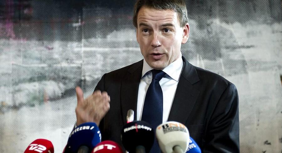 Christian Friis Bach i front for Dansk Flygtningehjælp (Foto: Keld Navntoft/Scanpix 2013)