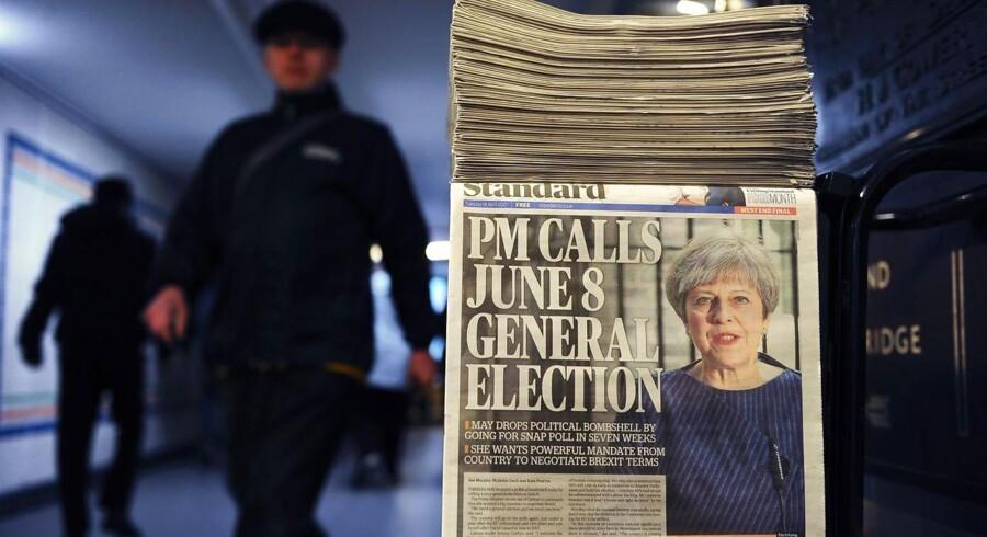 EU-Kommissionen afviser, at bankagentur og lægemiddelagentur kan blive i London efter britisk udmeldelse.