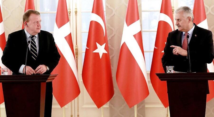 Tyrkiets premierminister Binali Yildirim har ifølge tyrkiske medier meddelt, at han planlægger at rejse til Danmark 19. marts.