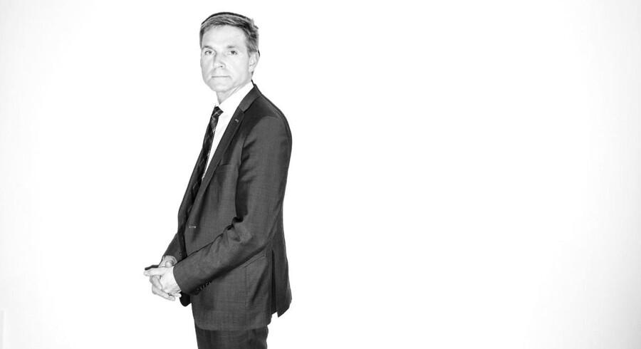 Portræt af DF's formand Kristian Thulesen Dahl.