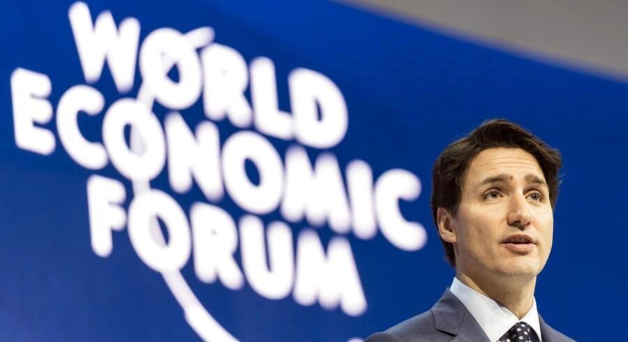 Canadas premierminister Justin Trudeau siger, at han er i gang med at overbevise USA om, hvor godt NAFTA er.