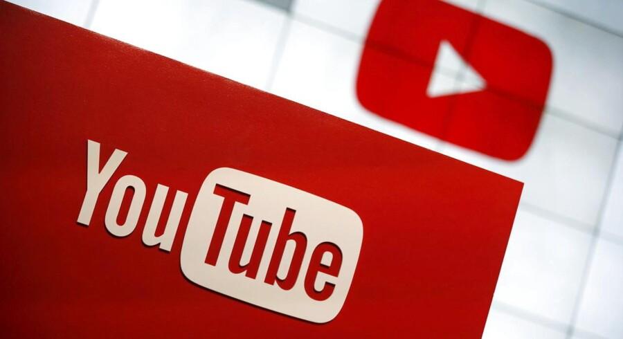 En lang række store firmaers reklamer er blevet vist sammen med ekstremistiske film lagt på Googles filmtjeneste YouTube. Arkivfoto: Lucy Nicholson, Scanpix