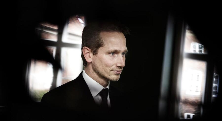 Finansminister Kristian Jensen