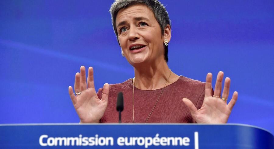 »Indtil videre står Margrethe Vestagerklar med et bødehæfte med plads til rigtig mange nuller.«