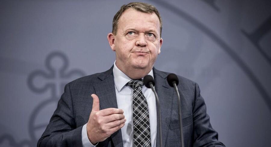 Statsminister Lars Løkke Rasmussen er ærgerlig over, at kørselstjenesten Uber blev lukket i Danmark sidste år.