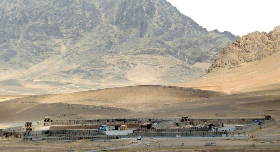 70 mennesker er blevet bortført i en landsby i Afghanistan. EPA/MUHAMMAD SADIQ