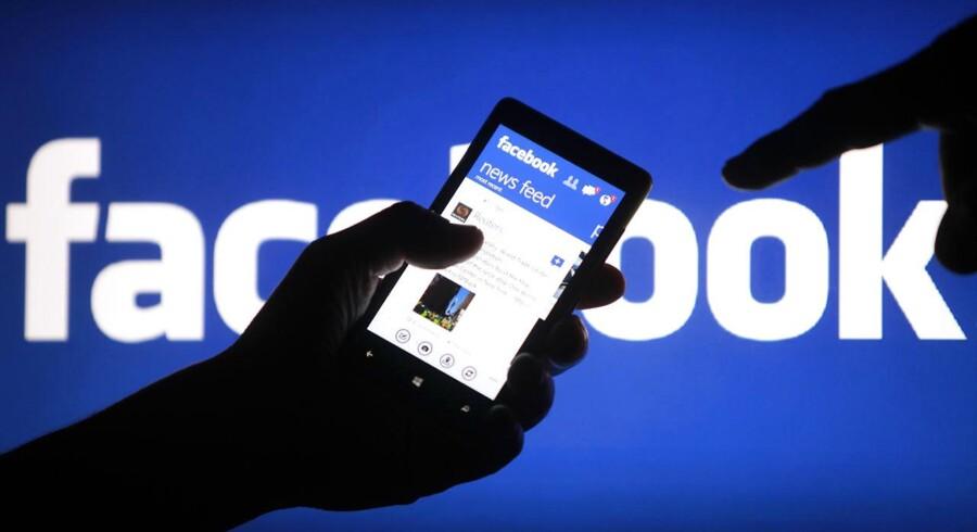 De små, nye nichemedier er mere populære på Facebook end mange af de etablerede medier. Foto: Scanpix