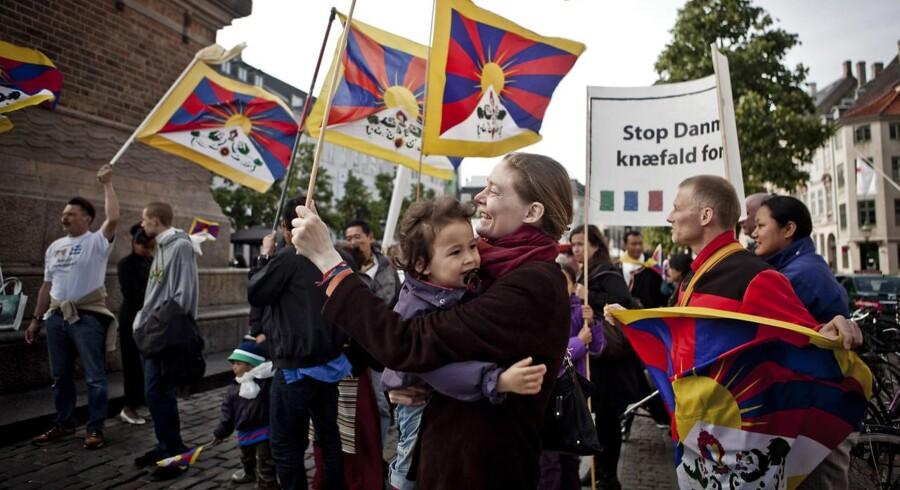 (ARKIV) Det bør undersøges, om Rigspolitiet med forsæt har forsøgt at skjule oplysninger for Tibetkommissionen. (Foto: Dennis Lehmann/Ritzau Scanpix)