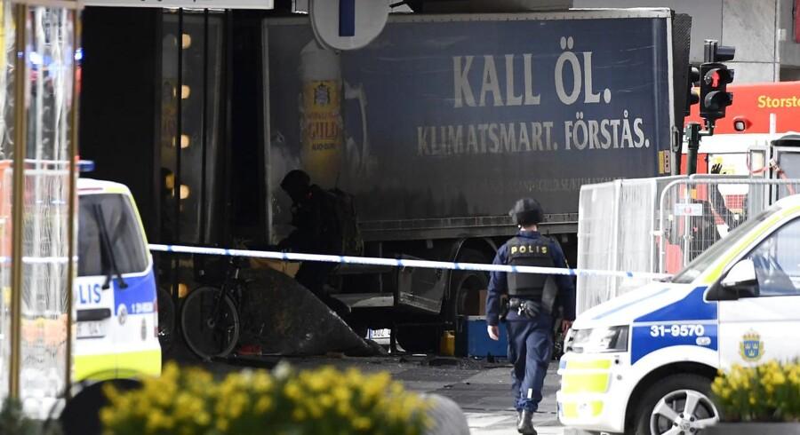 Rakhmat Akilov har eftersigende forklaret politiet, at hans oprindelige plan var et angreb i Danmark.