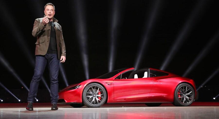 Premieren på den nye Tesla Roadster var en overraskelse i særklasse. Pressen forventede kun at se Teslas nye lastbil, Semi, men ud af bagsmækken på den kom en helt nye Roadster