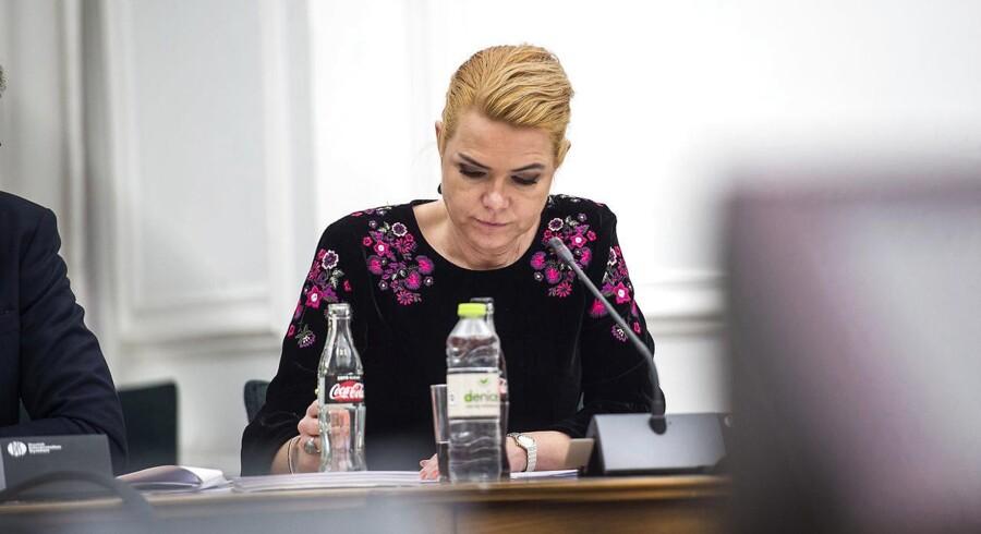 Udlændinge- og integrationsminister Inger Støjberg (V) (Foto: Sarah Christine Nørgaard/Scanpix 2017)
