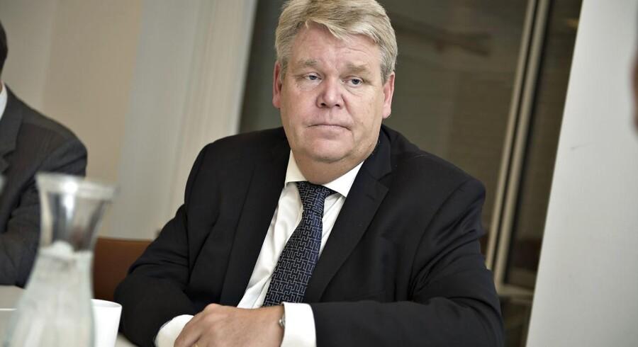Bert Nordberg, som i flere år har siddet for bordenden hos den danske vindmølleproducent Vestas, bliver fra august bestyrelsesformand for TDC. Arkivfoto: Henning Bagger, Scanpix