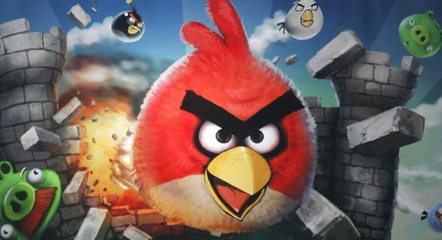 De vrede, finske fugle, som skydes af sted i mobilspillet »Angry Birds«, skal nu ud på sin hidtil største rejse. Arkivfoto: Lucas Jackson, Reuters/Scanpix