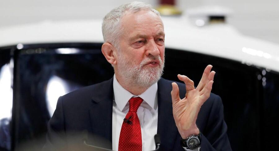 Formanden for Labour i Storbritannien, Jeremy Corbyn.