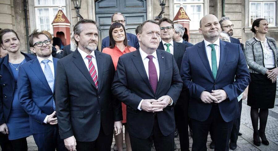 Arkivfoto: Lars Løkke lover tryghed for boligejerne, og at arbejde skal betale sig, på regeringens dag nummer 100.