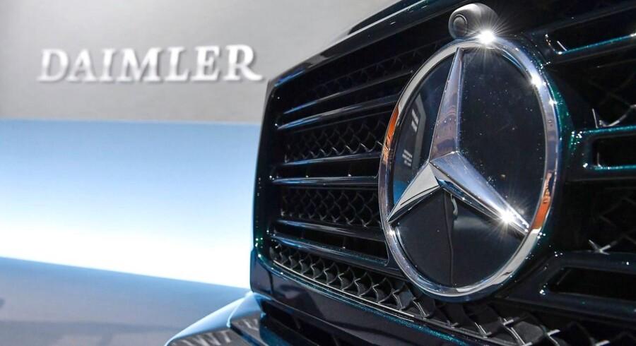 Daimler vil være verdens teknologisk førende bilproducent.
