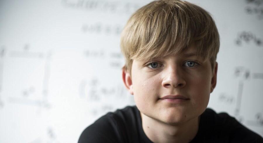 16-årige Max Fischer-Rasmussen.