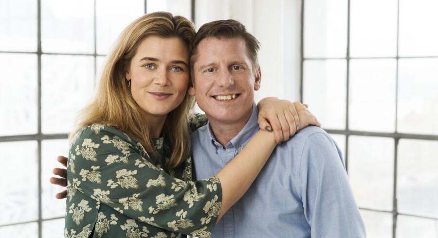 Sofie Lassen-Kahlke og Robert Hansen vender tilbage som Anja og Viktor - nu som musical. Foto: Miklos Szabo