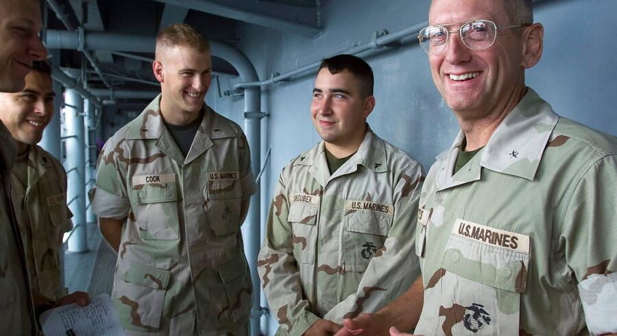USA's nye forsvarsminister James N. Mattis i Afghanistan i november 2016.