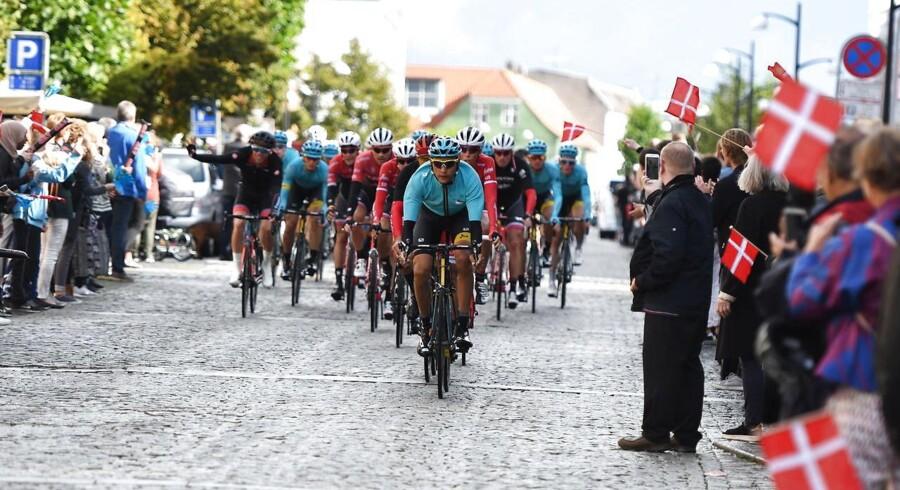 Det danske etapeløb blev skudt i gang tirsdag middag på Frederiksberg i København