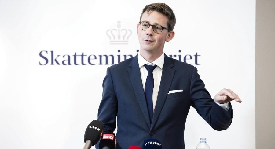 Skatteministeriet med Karsten Laurtizen (V) i spidsen tegner sig for langt det største forbrug af Kammeradvokaten - og det skyldes bl.a. skandalesagen om inddrivelsessystemet EFI.