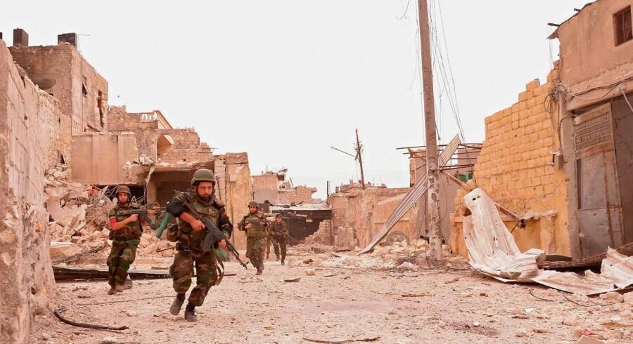 ARKIVFOTO fra Aleppo.
