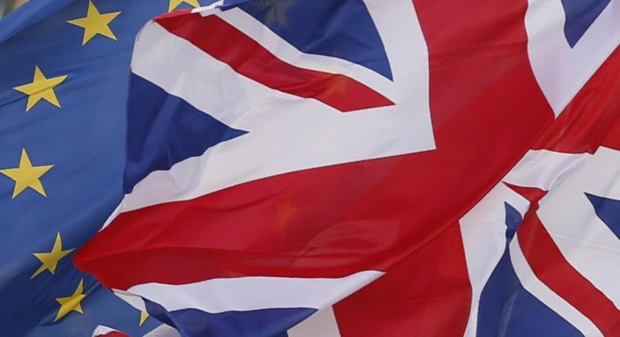 Det går langsomt, og uenighederne er stadig meget store, når det gælder forhandlingerne om den britiske exit fra EU. Det siger EU's chefforhandler, Michel Barnier, tirsdag efter EU27-landenes europaministermøde i Bruxelles. Reuters/Francois Lenoir/arkiv