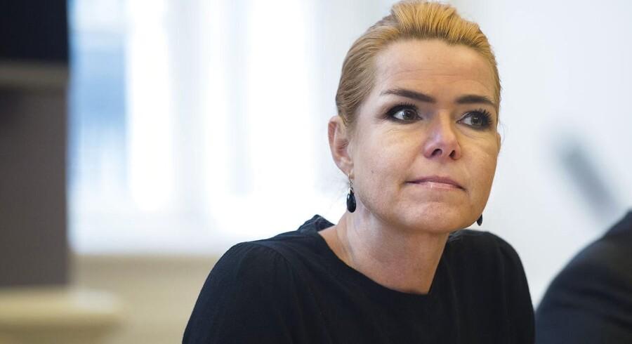 Udlændinge- og integrationsminister Inger Støjberg (V)