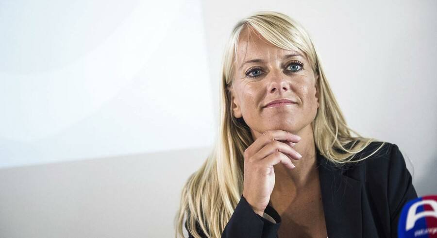 Nye Borgerlige med Pernille Vermund i spidsen har primært hentet vælgerstemmerne fra Dansk Folkeparti, viser analyse. (Foto: Ólafur Steinar Gestsson/Scanpix 2016)